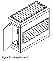 acoustair High efficiency filter section features