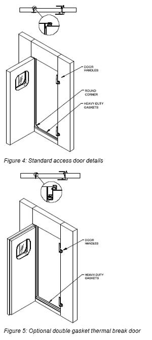 acoustair floor surface feature