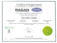 certificate of registration carrier, Air-conditioning, refrigeration, heating, cooling, HVAC, optimair, air cleaner, acoustair, transport, commercial refrigeration