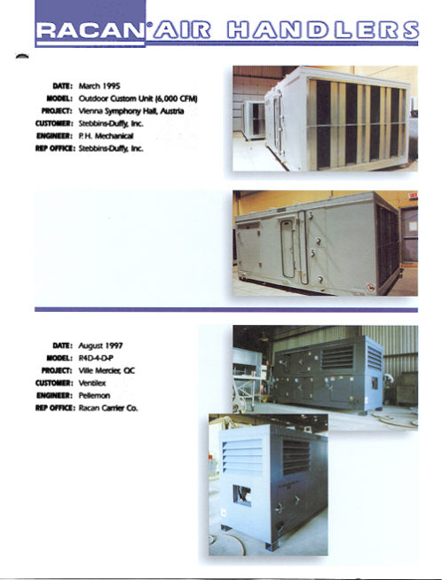 Stebbins-Duffy, Inc. - march 1995, Air-conditioning, refrigeration, heating, cooling, HVAC, optimair, air cleaner, acoustair, transport, commercial refrigeration